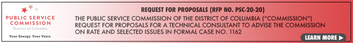 Request for Proposals No. PSC-20-20 Technical Consultant to advise the  Commission